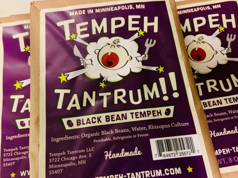 tempeh tantrum tempeh